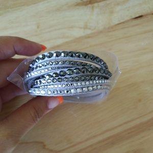 Swarovksi wrap bracelet